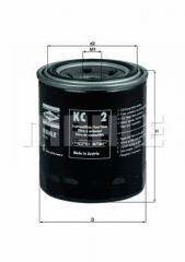 Фильтр топливный MAHLE/KNECHT KC 2