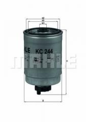 Фильтр топливный MAHLE/KNECHT KC 244