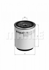 Фильтр топливный MAHLE/KNECHT KC 379D