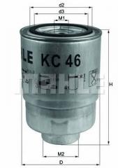 Фильтр топливный MAHLE/KNECHT KC 46