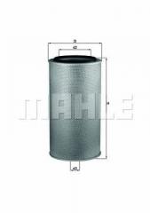 Фильтр воздушный MAHLE/KNECHT LX 1255