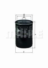 Фильтр масляный MAHLE/KNECHT OC 114