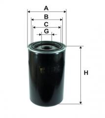 Фильтр масляный WIX 92007E
