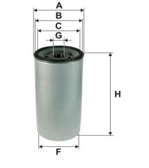 Фильтр топливный WIX 95151E