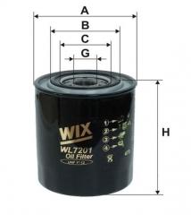 Фильтр масляный WIX WL7201