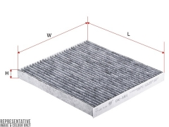 Фильтр салона угольный SAKURA CAC3301
