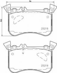 Колодки тормозные дисковые TEXTAR 2521905