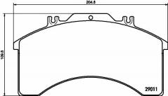 Колодки тормозные дисковые TEXTAR 2901105