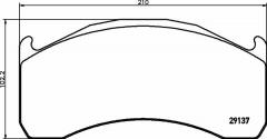 Колодки тормозные дисковые TEXTAR 2913706