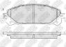 Колодки тормозные NIBK PN1845