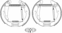 Колодки тормозные барабанные TEXTAR 84052402