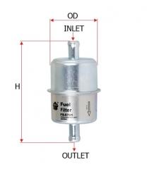 Фильтр топливный SAKURA FS5701