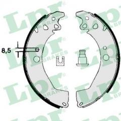 Колодки тормозные барабанные LPR 04760