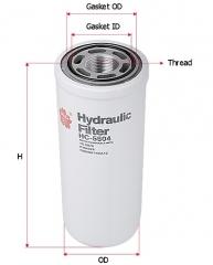 Фильтр гидравлический SAKURA HC5504