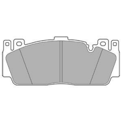 Колодки тормозные дисковые DELPHI LP3156
