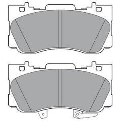 Колодки тормозные дисковые DELPHI LP3254
