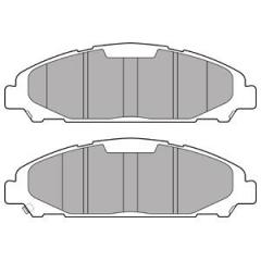 Колодки тормозные дисковые DELPHI LP3255