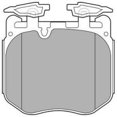 Колодки тормозные дисковые DELPHI LP3304