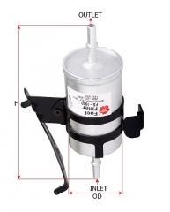 Фильтр топливный SAKURA FS1910
