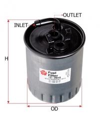Фильтр топливный SAKURA FS26040
