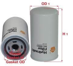 Фильтр гидравлический SAKURA HC6801