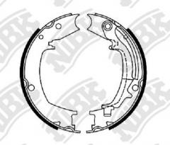 Колодки тормозные барабанные NIBK FN0644