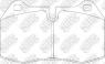 Колодки тормозные NIBK PN0165