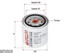 Фильтр охлаждающей жидкости SAKURA WC5705