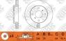 Диск тормозной NIBK RN1222V