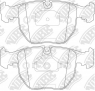 Колодки тормозные NIBK PN0401