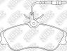 Колодки тормозные NIBK PN0173W