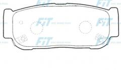 Колодки тормозные FiT FP0954