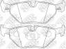 Колодки тормозные задние NIBK PN0028
