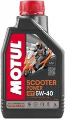 MOTUL SCOOTER POWER 4T 5W-40 MA