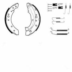 Колодки тормозные барабанные, комплект DELPHI KP1089