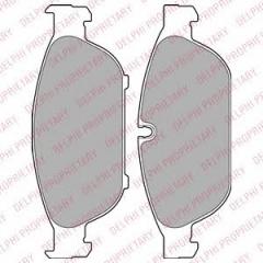 Колодки тормозные дисковые DELPHI LP2301