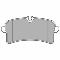 Колодки тормозные дисковые DELPHI LP2706