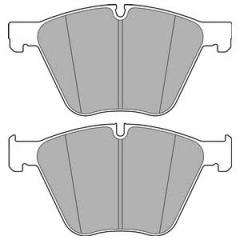 Колодки тормозные дисковые DELPHI LP2707