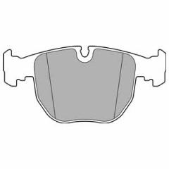 Колодки тормозные дисковые DELPHI LP2708