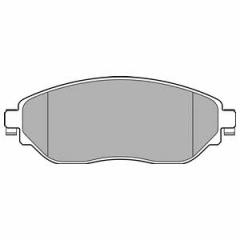 Колодки тормозные дисковые DELPHI LP3143