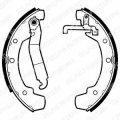 Колодки тормозные барабанные DELPHI LS1403
