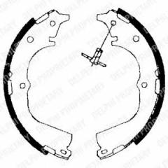 Колодки тормозные барабанные DELPHI LS1654