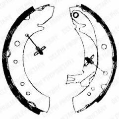 Колодки тормозные барабанные DELPHI LS1713