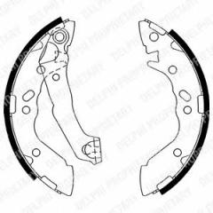 Колодки тормозные барабанные DELPHI LS1891