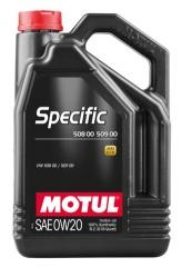 MOTUL SPECIFIC 50800 50900 0W-20