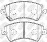 Колодки тормозные передние NIBK PN1224