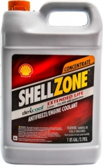 Антифриз SHELL SHELLZONE Dex-Cool Красный G12