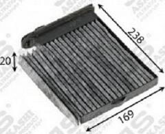 Фильтр салона угольный JS ASAKASHI AC2509C