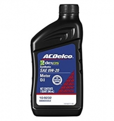 ACDelco Dexos1 Full Synthetic 0W-20 109236
