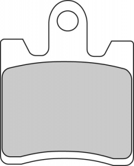 Колодки тормозные мото FERODO FDB2085ST